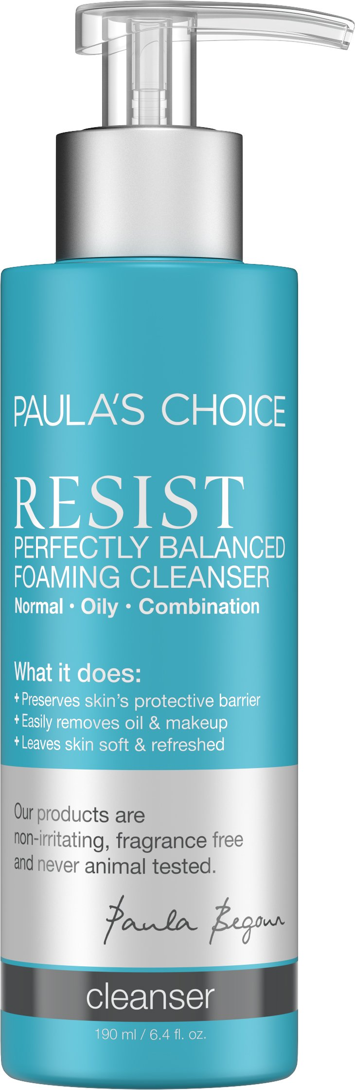 Paula's Choice--RESIST Perfectly Balanced Anti-Aging Cleanser--Facial Cleanser for Normal, Combination, and Oily Skin--1-6.4 oz Bottle