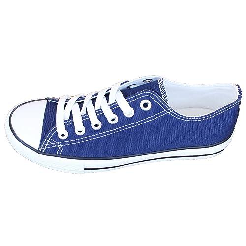 BRANDELIA Zapatillas Canvas de Lona Zapato de Mujer Estilo Casual y Deportivo, Varios Colores: Amazon.es: Zapatos y complementos