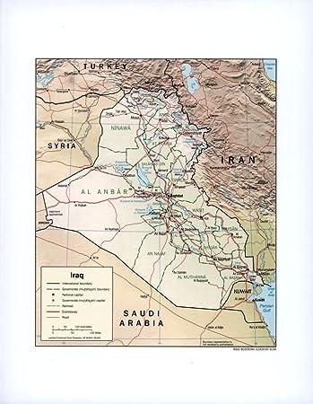 Amazon.com: Vintage 1964 Map of Arabian Peninsula. 11-64. Arabian ...