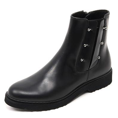 Cult B7672 Beatles Donna Rose W Mid Scarpe Nero Boot Shoe