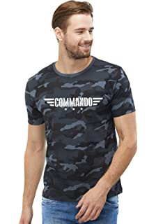 9abaf586 Graphic Printed T-Shirt for Men & Women | Army Tshirt | Half Sleeve ...