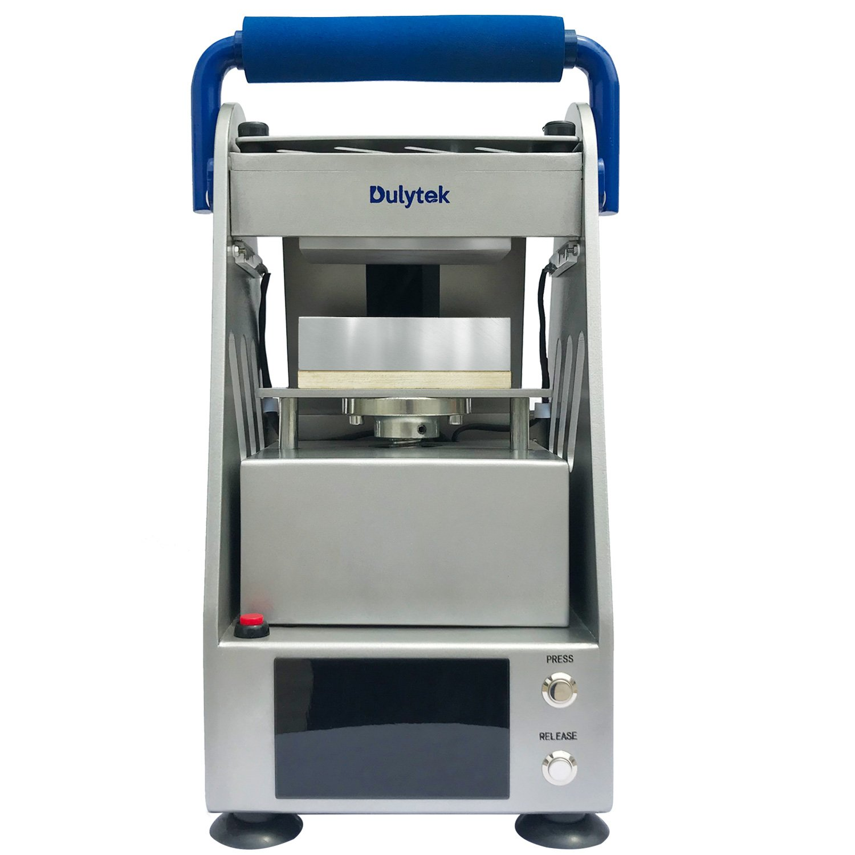 Dulytek DW4000 Handwheel Heat Press Machine with 3 Ton Pressure and Dual Heat Plates /& Control Panels Solventless