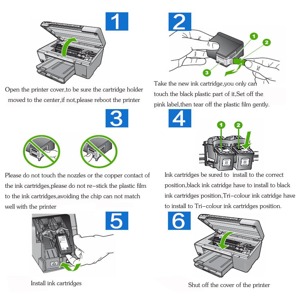 Alta calidad y alta capacidad Compatible Cartuchos de tinta de ...