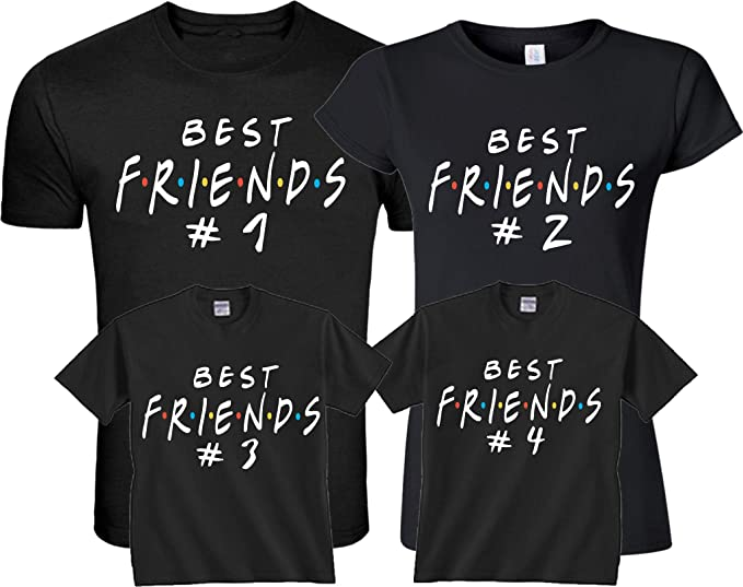 Mad Over Shirts BBF Best Bros Forever Unisex Premium Tank Top
