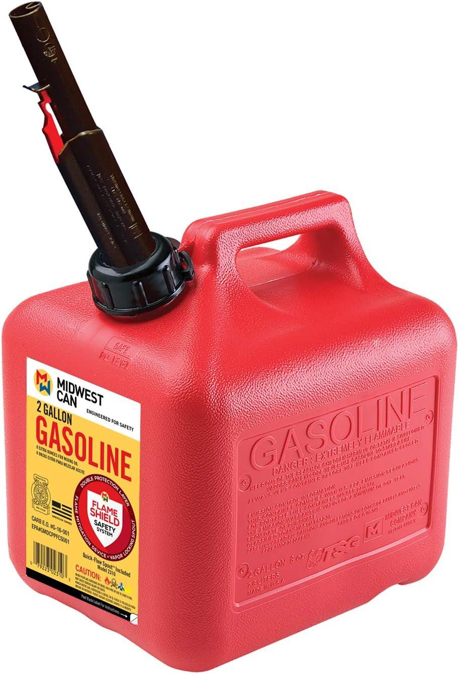 Quick-Flow Spout Midwest Can 2310 Auto Shut Off Gasoline Can