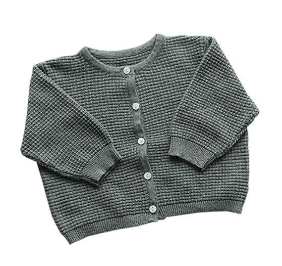 81c505064 Amazon.com  Taiycyxgan Unisex Baby Boys Girls Knit Cardigan Sweater ...