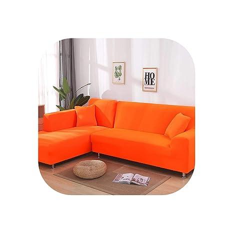 TTTTT - 2 Fundas para sofá esquinero en Forma de L para Sala ...