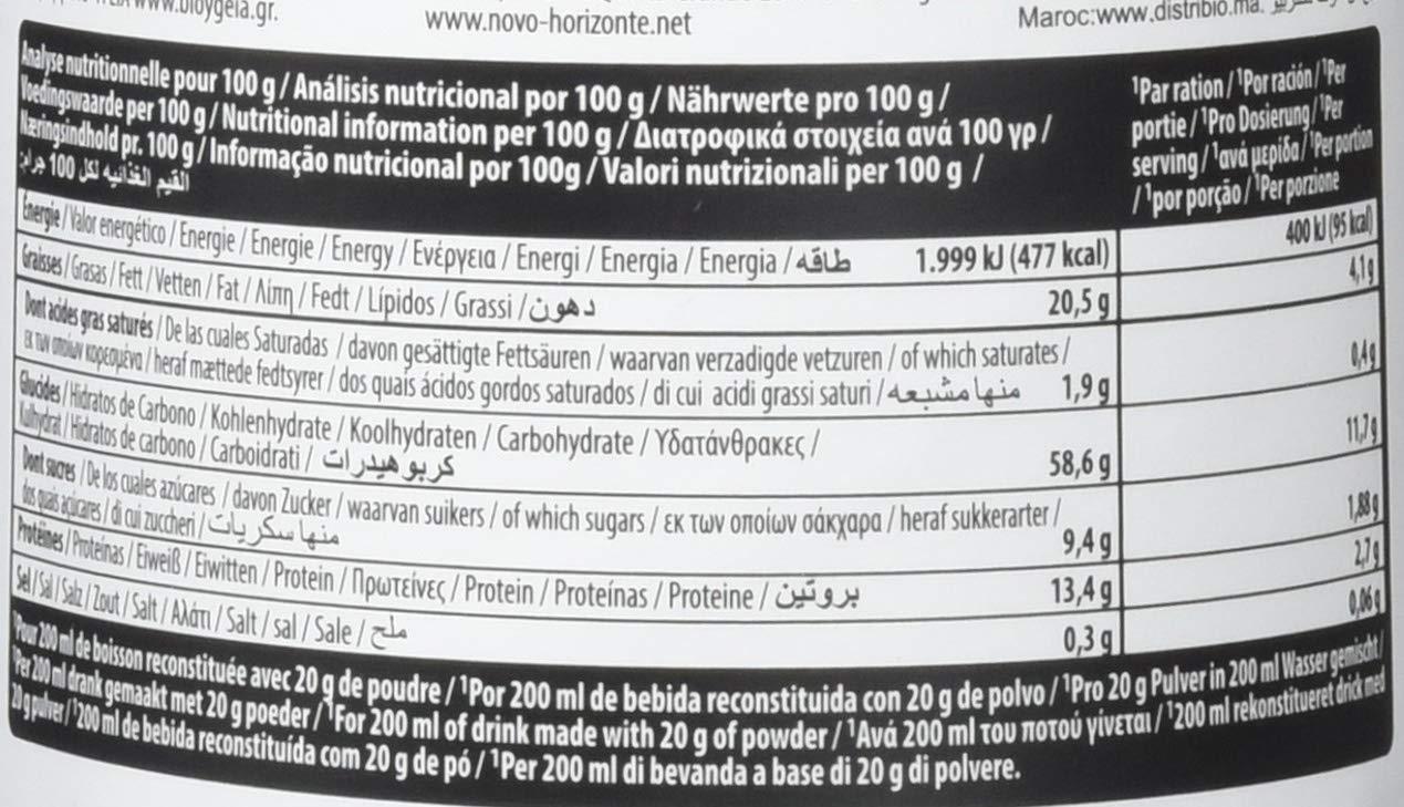 EcoMil almendra Orgánica leche en polvo sin azúcar añadido 400 g: Amazon.es: Alimentación y bebidas