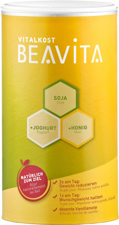 BEAVITA Vitalkost sabor vainilla | 500g | 218 kcal por porción | Sin gluten ni conservadores artificiales | Suplemento dietético con proteína, ...