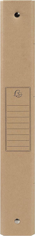 p/âte de bois et huile v/ég/étale Visuels Al/&ea Exacompta 54847E Classeur Eterneco 2 anneaux 1,5 cm dos 2 cm fabriqu/é avec une nouvelle carte /à laspect tr/ès naturel et issue de mati/ères v/ég/étales