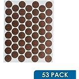 """53 Pack Fastcap FC.WP.916.MO 9/16"""" SELF ADHESIVE SCREW CAP COVERS MEDIUM OAK"""