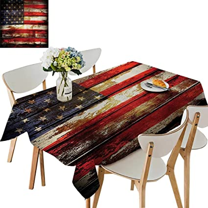 Amazon com: UHOO2018 Tablecloth Symbolism Over Old Rusty TES