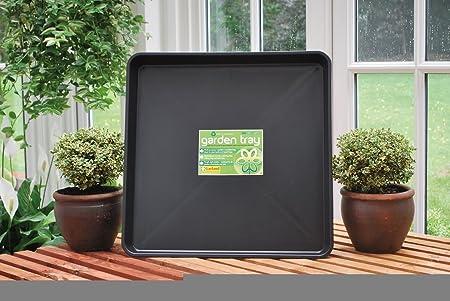 Garland - Bandeja Cuadrada para jardín: Amazon.es: Hogar
