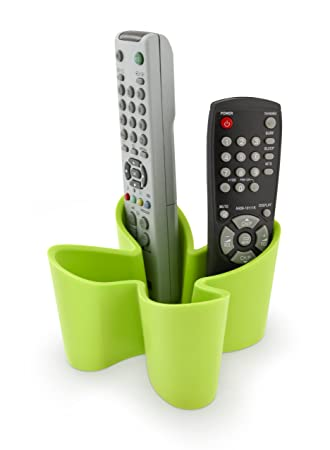 tv remote holder. cozy remote control tidy holder and tv organizer (green) tv d