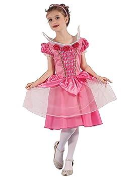 Generique - Disfraz Vestido de Baile Princesa niña M 7-9 años (120 ...