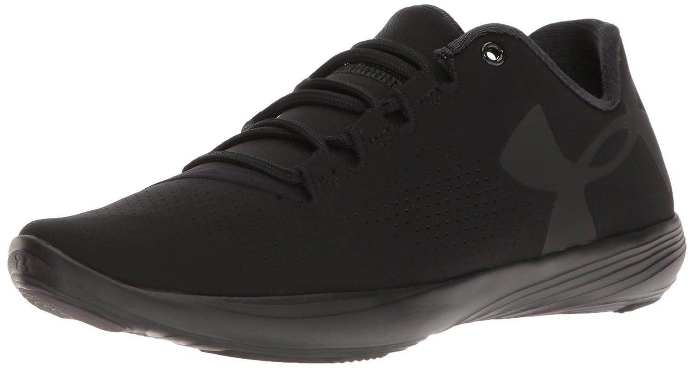 Under Armour Women's Street Precision Low Sneaker B0182YK2S0 9.5 M US|Black (002)/Black