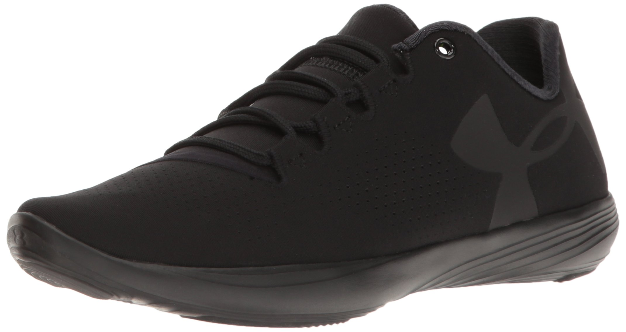 Under Armour Women's Street Precision Low, Black/Black/Black, 9.5 B(M) US by Under Armour