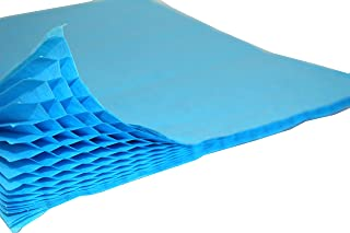 product image for 3-Pack Honeycomb Paper Craft Pads, Mini Quarter Inch Glue Line, Turquoise (Pad Size 7 X 9.5 Inches)