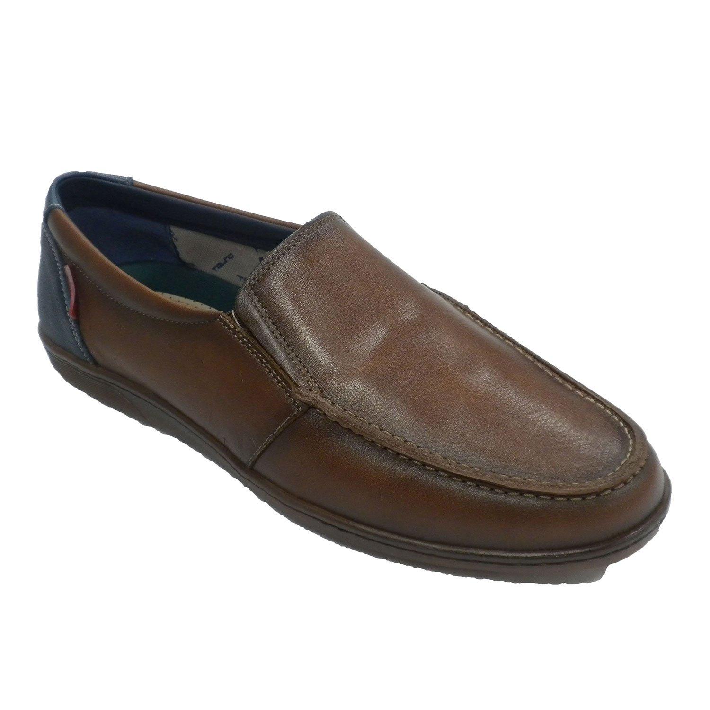 Tolino Zapato Verano Hombre Tipo Mocasín Náutico Cuero 43 EU