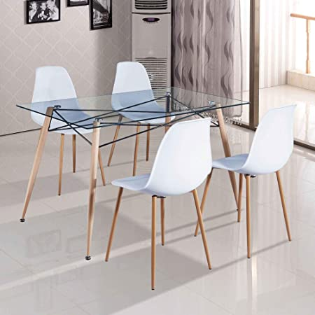 chaises table a manger amazone