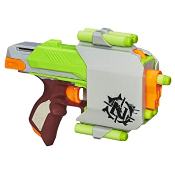 Hasbro Raj Toy Store Nerf Zombie Side Strike Blaster Action Gun (Multicolour)