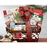 Wine Country Gift Baskets Season's Greetings Holiday Gift Basket. Godiva & Ghirardelli Chocolate Gift Basket. Perfect for Family Gifts, Christmas Gifts, Corporate Gifts