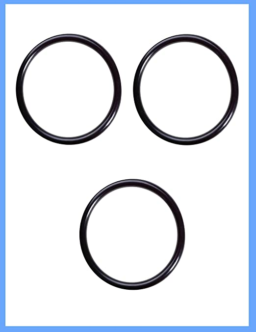 3 Pack CFS etc GE KWGE25RG//WS03X10038 Water Filter O-Ring for GXWH01C GXWH04F