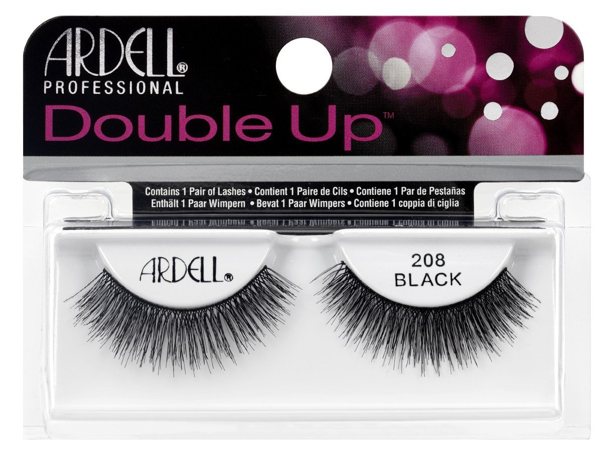 Ardell Double Up #208 Black Lashes (6 Pack)