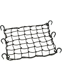 "POWERTYE 5015215""x15"" PowerTye® Mfg Cargo Net Featuring 6 Adjustable Hooks & Tight 2""x2"" Mesh, Black"