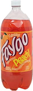 product image for Faygo peach flavor soda pop, 2-liter plastic bottle