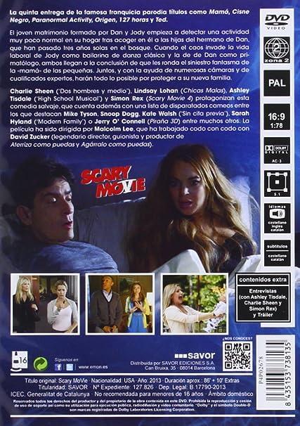 Amazon Com Scary Movie 5 Import Movie European Format Zone 2 2013 Ashley Tisdale Simon Rex Erica Ash Kate W Movies Tv