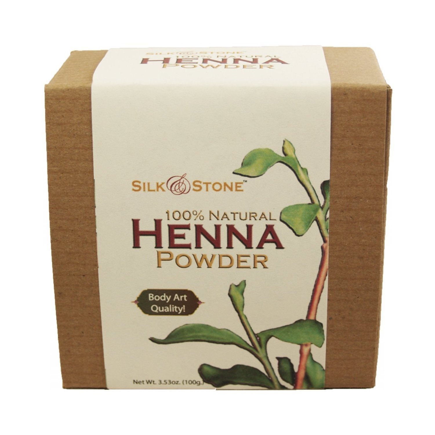 100% Natural Henna Powder (Body Art Quality)