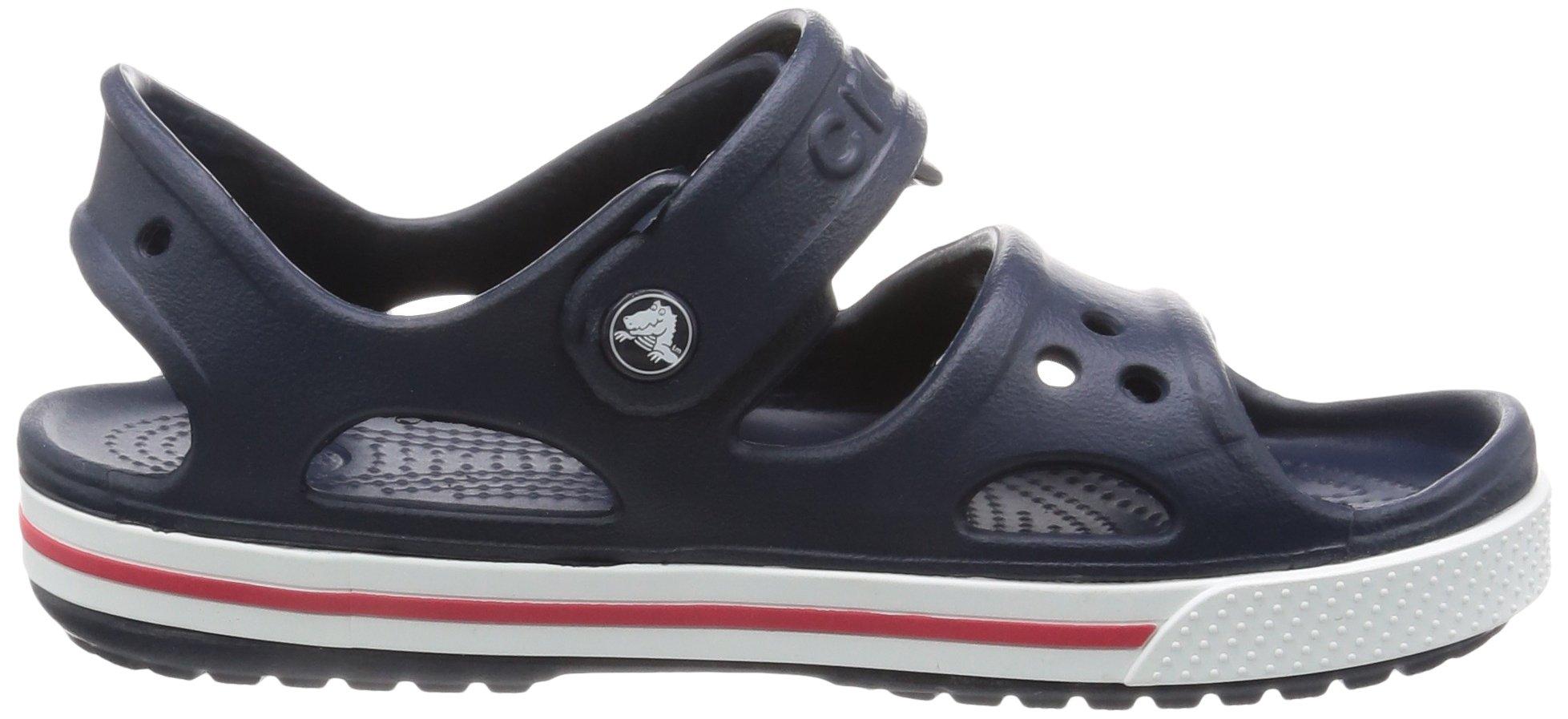 Crocs Kid's Boys and Girls Crocband II Sandal | Pre School, Navy/White, 5 M US Toddler by Crocs (Image #12)