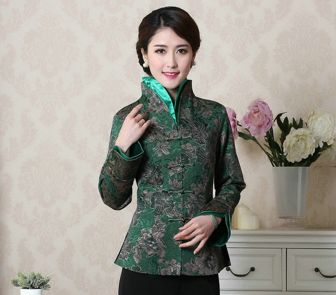 Womens Tang Suits Chinese Style Coats Retro Jackets Full Dress Formal Dress Womens Jackets Business Jackets by Womens Tang Suit (Image #2)