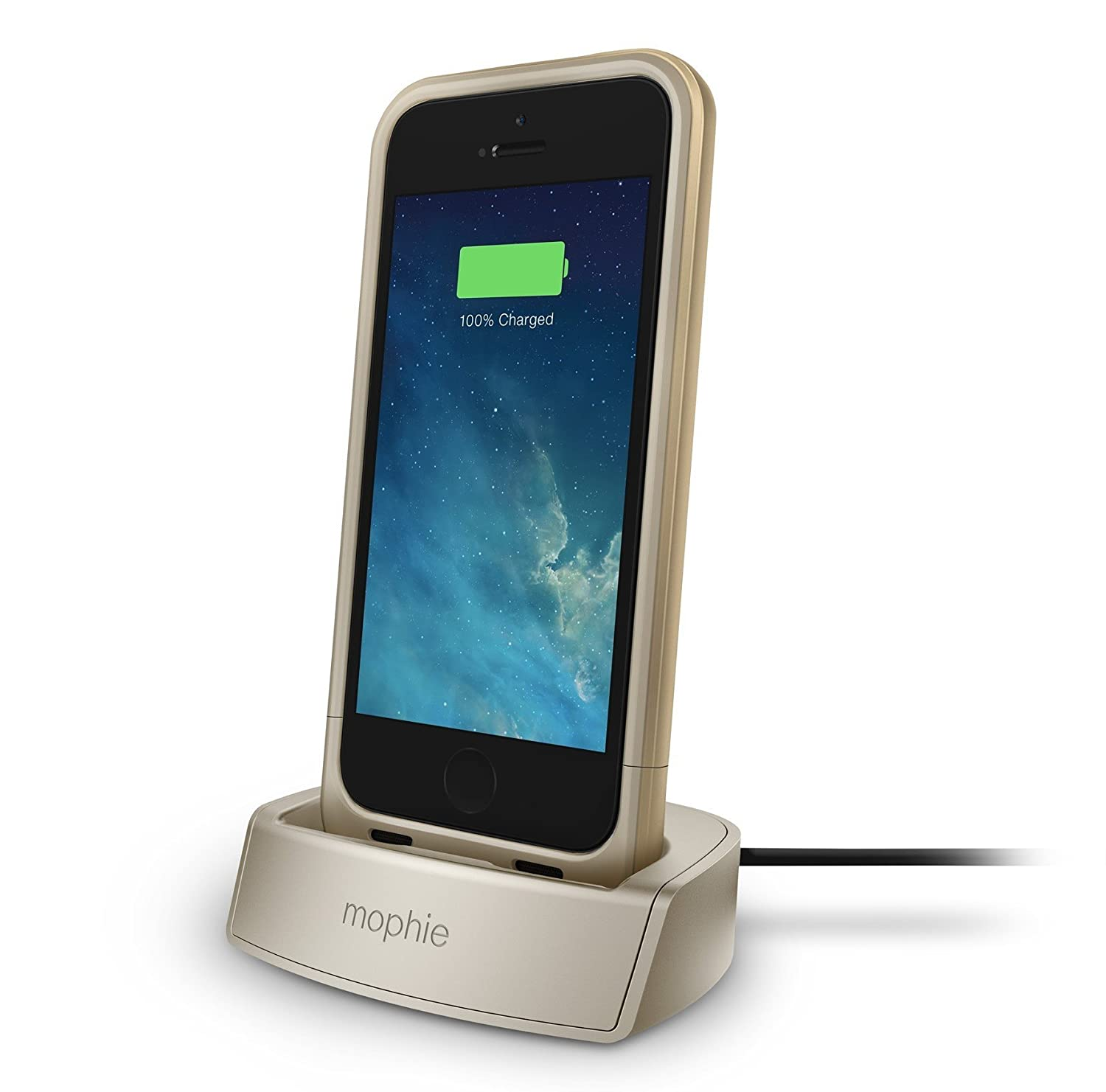 sports shoes 52c25 be113 mophie 2308 Juice Pack Dock for iPhone 5/5s/SE - Gold: Amazon.in ...