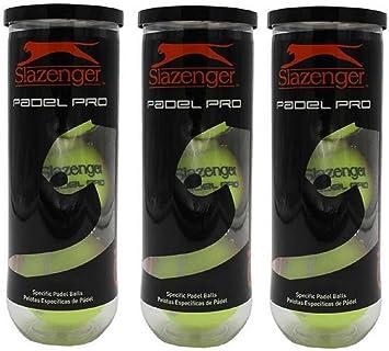 Pelotas Padel Slazenger Padel Pro Pack 9: Amazon.es: Deportes y aire libre