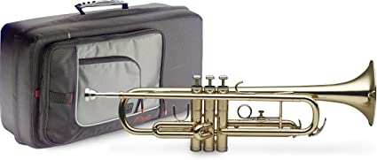 Stagg 77-T//SC B-Flat Trumpet with Soft Bag