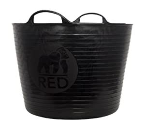 Tubtrugs SP42GBK Flexible Black Gorilla Large 38 Liter/10 Gallon Capacity
