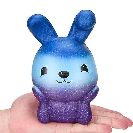 Juguete de poliuretano para niños de 16 cm con aroma a conejo, para coleccionar regalos