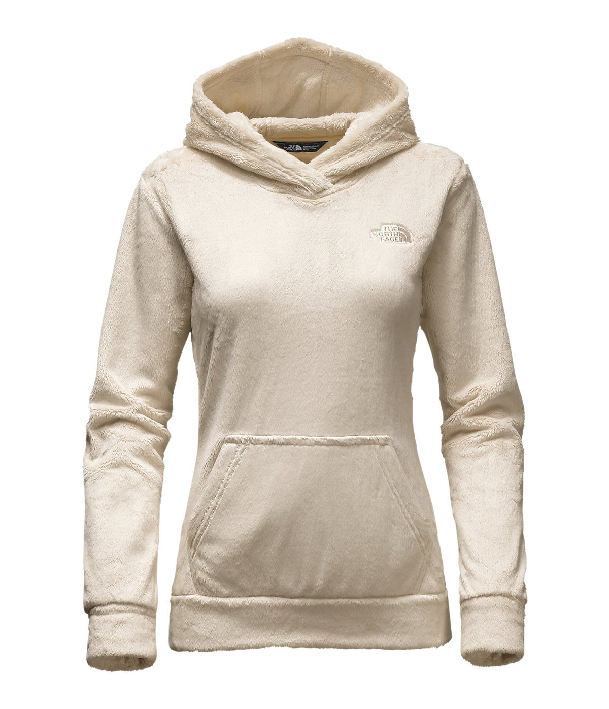 The North Face Women's Osito Fleece Hoodie (Small, Vintage White)