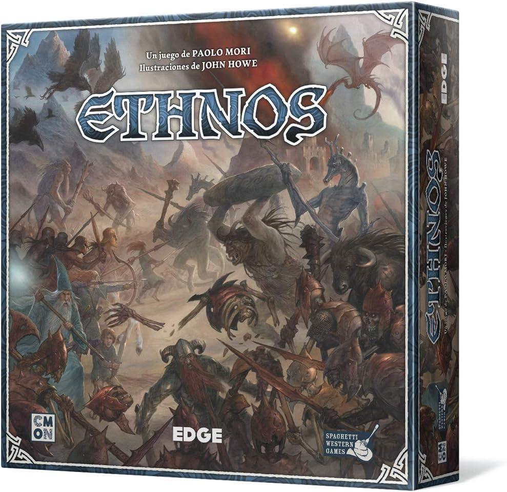 Edge Entertainment- Ethnos, Juego de Mesa (EECMET01)