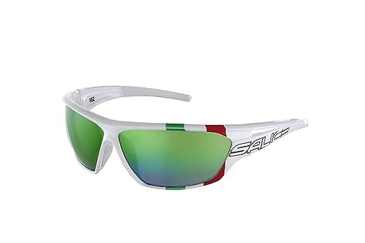 Salice 002ita, Unisex Sportbrille für Erwachsene M Orange