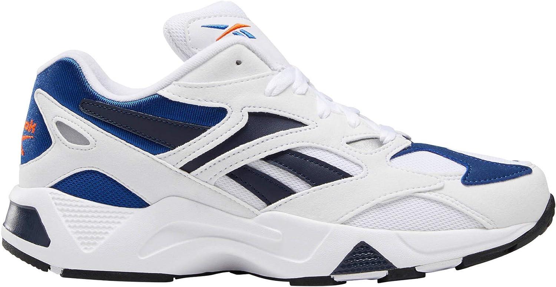 Reebok, AZTREK 96 White/Blue DV6756, Zapatillas para Hombre