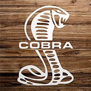 Ford Cobra Snake BodyStickers Vinyl Decal Car Decal Window Decal Bumper Stickers Die Cut Decals Funny Custom Laptop Stickers Present