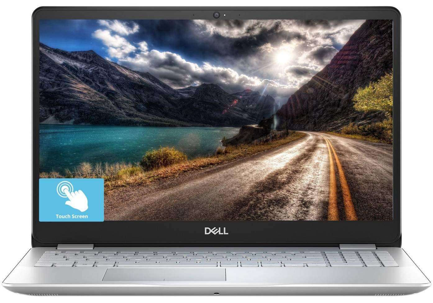 "Dell Inspiron 15 5000, 2019 15.6"" FHD Touchscreen Laptop, Intel 4-Core i5-8265U, 12GB RAM, 256GB PCIe SSD by 16GB Optane, 1TB HDD, Backlit KB Fingerprint Reader MaxxAudio Win 10/Accessories Bundle 1"