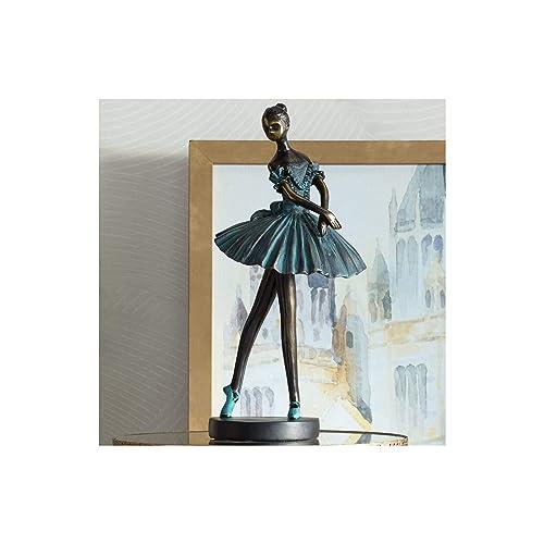 Dahlia Studios Ballerina 12 High Decorative Sculpture in Verde Bronze
