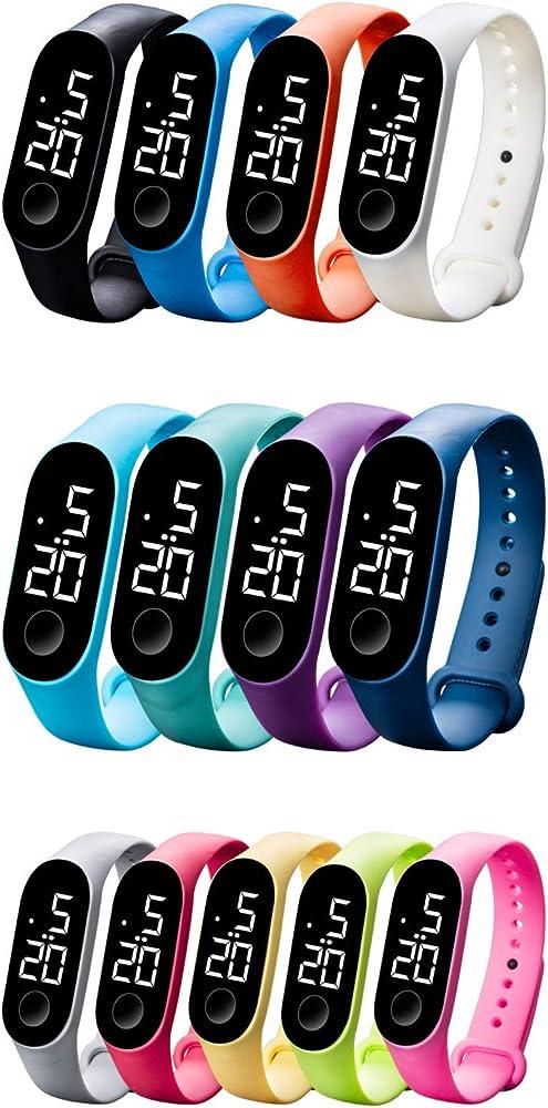 Pulsera Actividad con Pulsómetro Mujer Hombre, Notificaciones, Sumergible 50m, Mide calorías, Pasos y sueño,Monitor de Actividad Deportiva, Ritmo ...