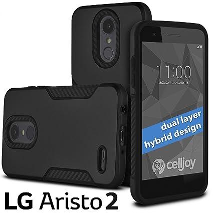 Amazon.com: Celljoy - Carcasa para LG Aristo 2, LG Tribute ...