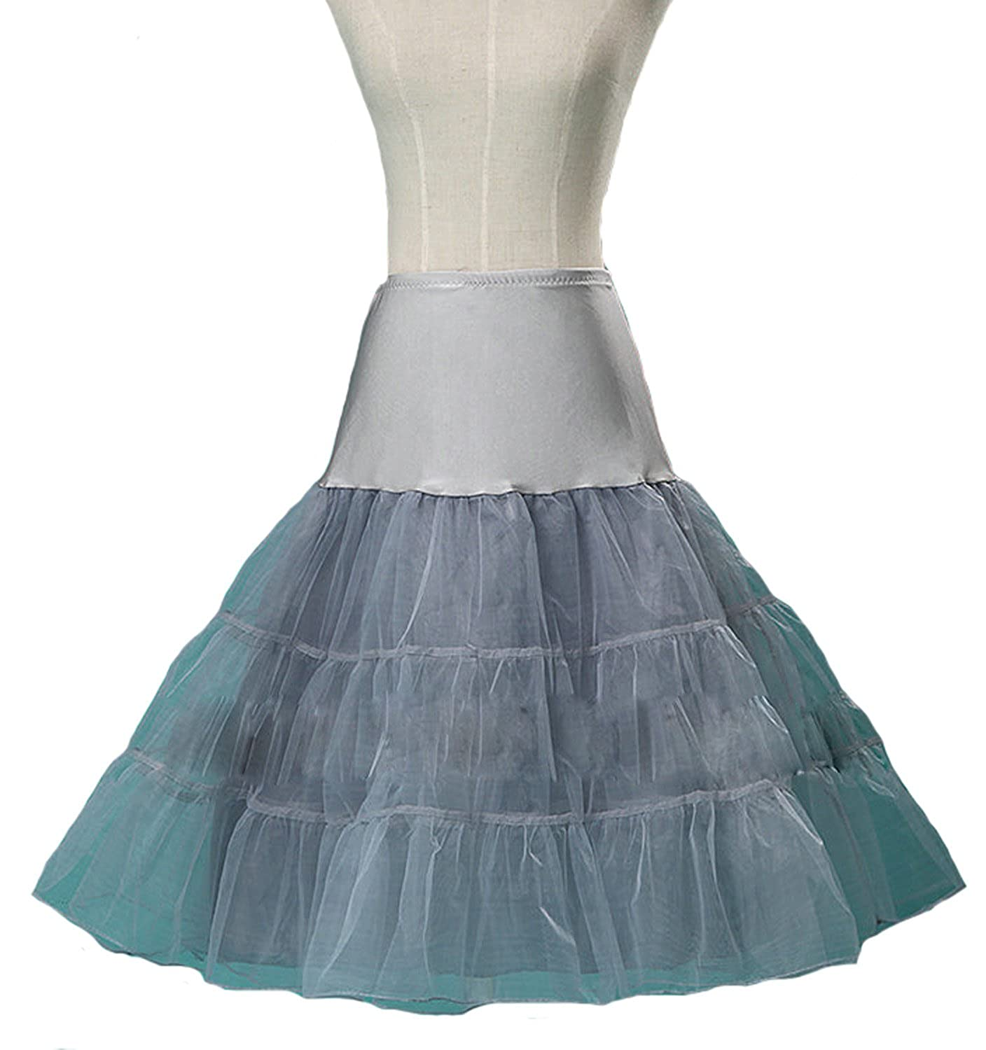 AliceHouse Women's 50s Vintage Petticoat Skirts Tutu Swing Skirt Underskirts PC1