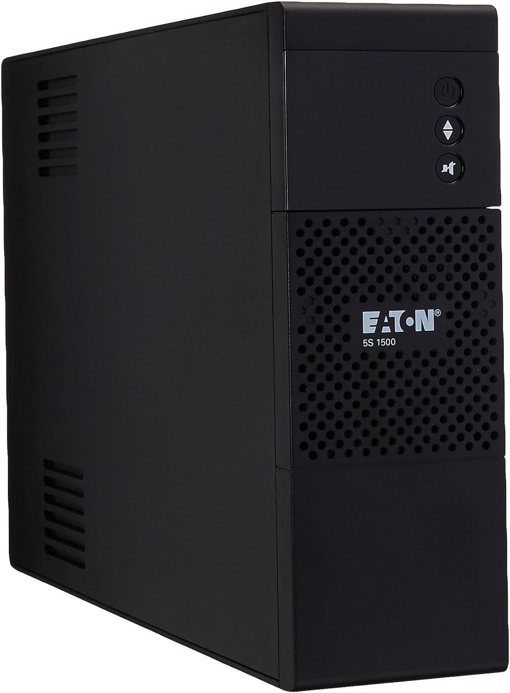 Eaton UPS, 1500VA/900W UPS Battery Backup & Surge Protector, 5S1500LCD Backup Battery, AVR, Line Interactive UPS, User-Friendly LCD Display, 3-Year Warranty, Uninterruptible Power Supply
